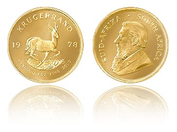 Gold Krugerrand San Francisco